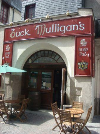 Le Buck Mulligan's, pub irlandais à Nantes !